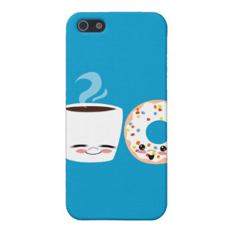 Coffee and Doughnut Pals iPhone SE/5/5s Case