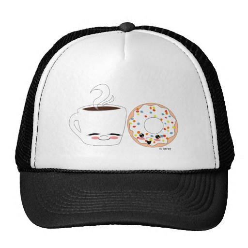 Coffee and Doughnut Pals Trucker Hat