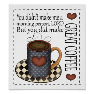 Coffee and Humor - Smaller Version Poster