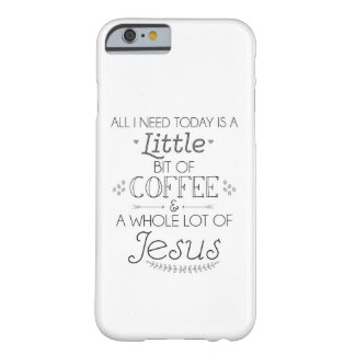 Coffee and Jesus cell phone cover / Christian