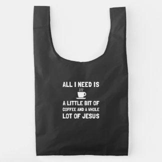 Coffee And Jesus Reusable Bag