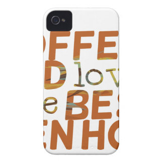 coffee and love funny cool humor joke iPhone 4 case