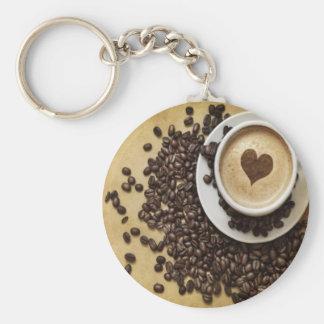 Coffee and Love Keychain