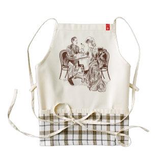 coffee and love zazzle HEART apron