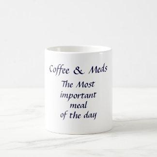 Coffee and Meds Mug