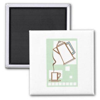 Coffee and Mug Magnet