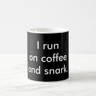 Coffee and Snark Mug