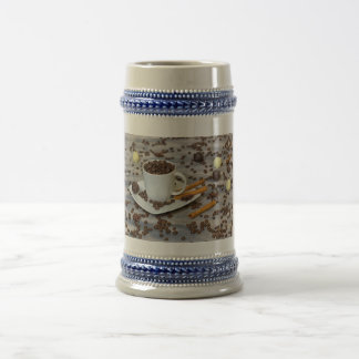 Coffee and spices beer stein