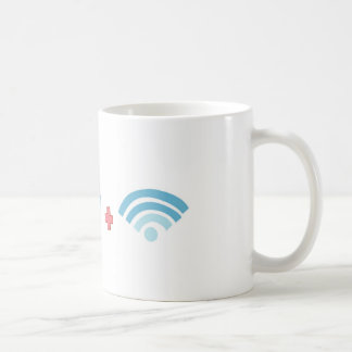 Coffee and Wifi Coffee Mug