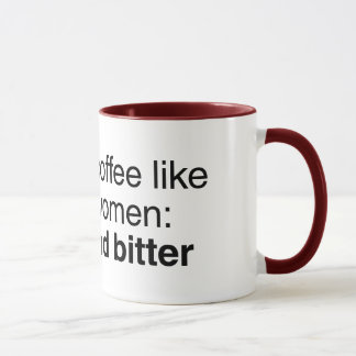 Coffee and Women: Strong and Bitter Mug