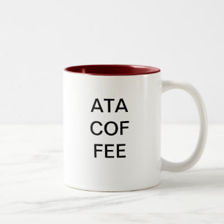 COFFEE - another three letter acronym Two-Tone Coffee Mug