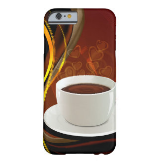 Coffee Art Cafe Barely There iPhone 6 Case