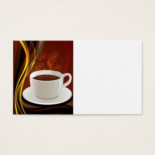 Coffee Art Cafe Business Card