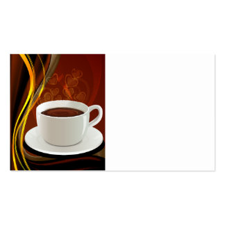 Coffee Art Cafe Business Card Templates