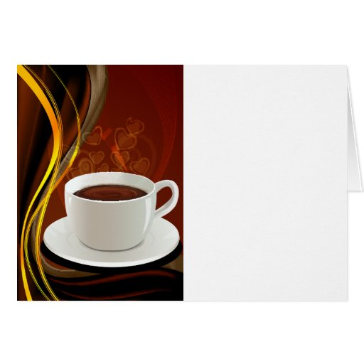 Coffee Art Cafe Cards