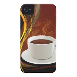 Coffee Art Cafe Case-Mate iPhone 4 Cases