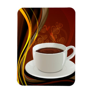 Coffee Art Cafe Magnet