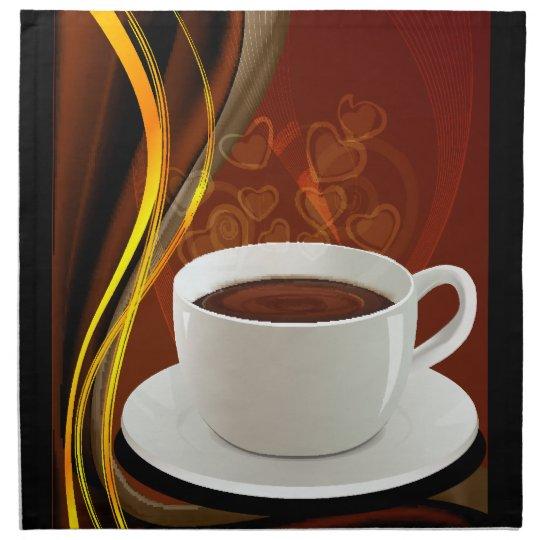 Coffee Art Cafe Napkin