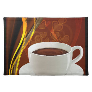 Coffee Art Cafe Placemat