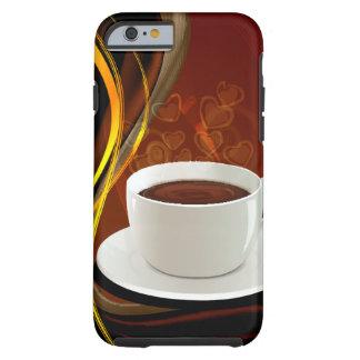 Coffee Art Cafe Tough iPhone 6 Case