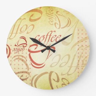 Coffee Art Wall Clocks