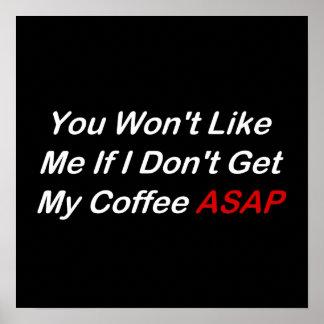 Coffee ASAP Poster