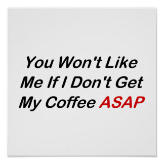 Coffee ASAP Print