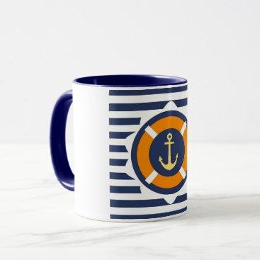 cloudsendgallery Coffee At Anchor Mug