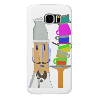 Coffee at My Favorite Cafe Samsung Galaxy S6 Cases