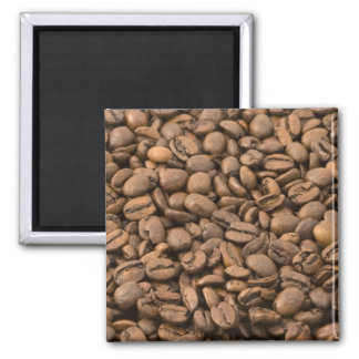 Coffee Background 2 Inch Square Magnet