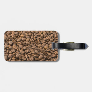 Coffee Background Luggage Tag