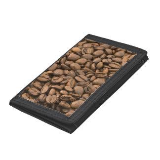 Coffee Background Tri-fold Wallet