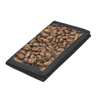 Coffee Background Trifold Wallet