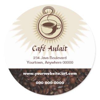 Coffee Bar Promotional Sticker sticker