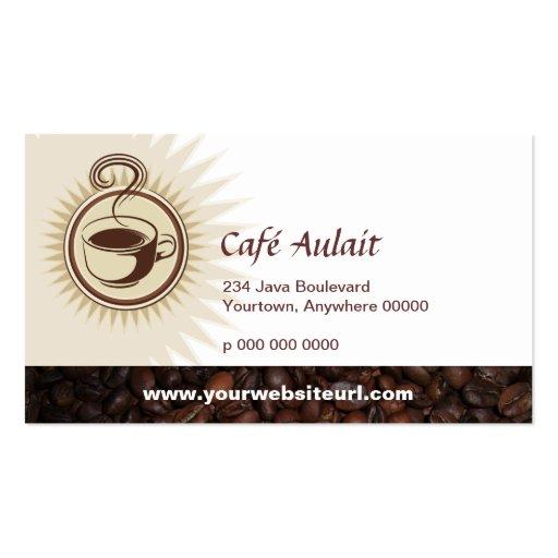 Coffee Bar Rewards Business Card