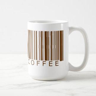Coffee Barcode Coffee Mug