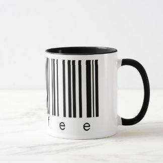 Coffee Barcode Mug