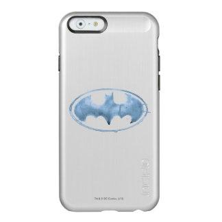Coffee Bat Symbol - Blue Incipio Feather Shine iPhone 6 Case