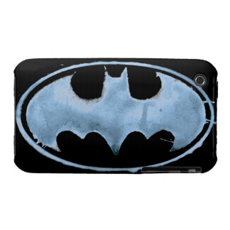Coffee Bat Symbol - Blue iPhone 3 Case