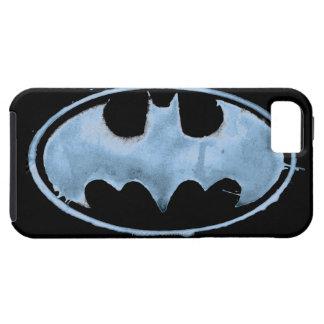 Coffee Bat Symbol - Blue iPhone SE/5/5s Case
