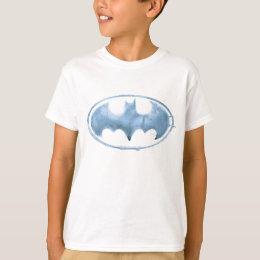 Coffee Bat Symbol - Blue T-Shirt