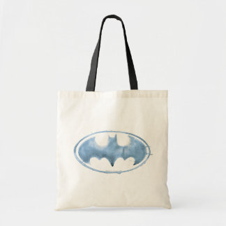 Coffee Bat Symbol - Blue Tote Bag