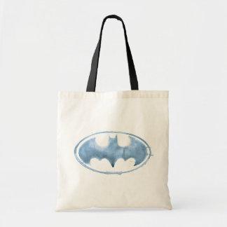 Coffee Bat Symbol - Blue Tote Bag
