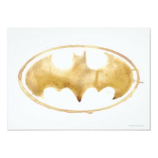 Coffee Bat Symbol Card