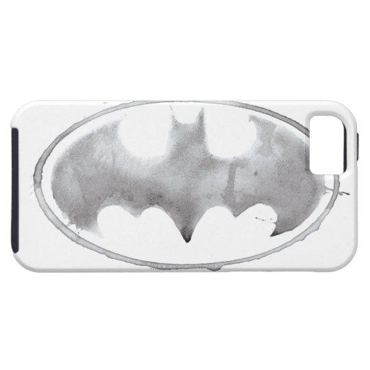 Coffee Bat Symbol - Gray iPhone SE/5/5s Case