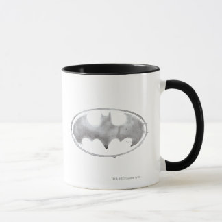 Coffee Bat Symbol - Gray Mug
