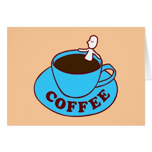 Coffee Bath Card