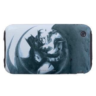 Coffee Batman Tough iPhone 3 Case