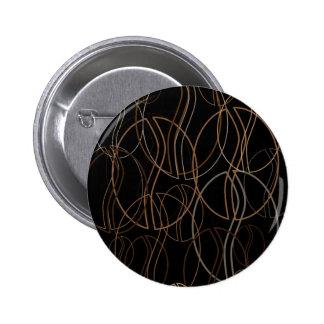 coffee bean blur pinback button