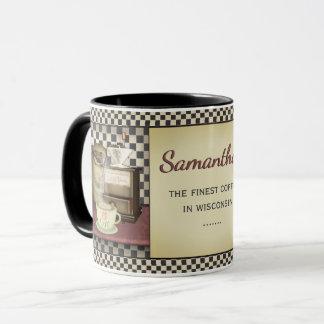 Coffee Bean Café Personalized Mug